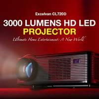 Excelvan HD projektor EU raktárból 100 dollár alatt!