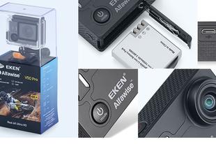 EKEN Alfawise V50 Pro - valódi 4K kamera a GoPro árának töredékéért