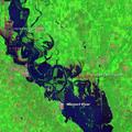 Hosszantartó áradások Kelet-Nebraskában