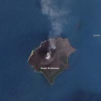 Vulkáni aktivitás a Krakataunál