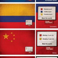 Statisztikák zászlókban