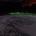 A sarki fény (Aurora borealis) timalapse videón