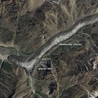 Medve-gleccser, Tadzsikisztán