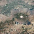 Az Aras folyó a török-örmény-iráni határon