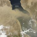 Porfelhő a Vörös-tenger felett