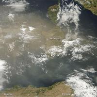 Por a Földközi-tenger felett