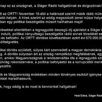 Megszűnik a Sláger és a Danubius rádió