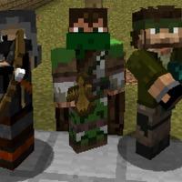 MineCraft csoportkép
