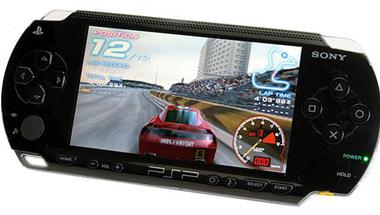 PSP, mint platform a Game Over-ben