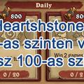 Heartshstone - Élet a 100-as szinten vagy fölötte -Így játssz 100-as szint felett