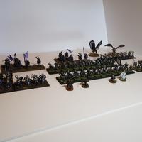 Games Day készülődés - a befejezett, festett jófiúk sereg
