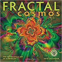 \TOP\ Fractal Cosmos 2018 Wall Calendar: The Mathematical Art Of Alice Kelley. entre Thats Parte Message Bryce
