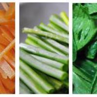 Mézes kacsa zöldségekkel