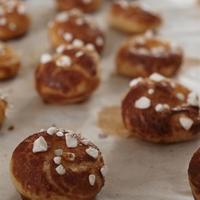 Chouquettes (cukorral szórt fánk)