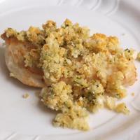 Ropogós csirkemell fűszervajas morzsával