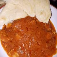 Vajas csirke curry
