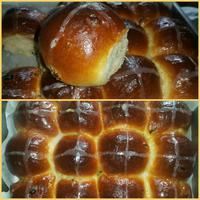 Hot cross buns - angol húsvéti zsemlék