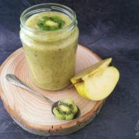 Banán-kivi- zöld alma turmix