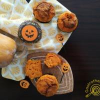 Sütőtökös tökmagos füstölt sajtos muffin