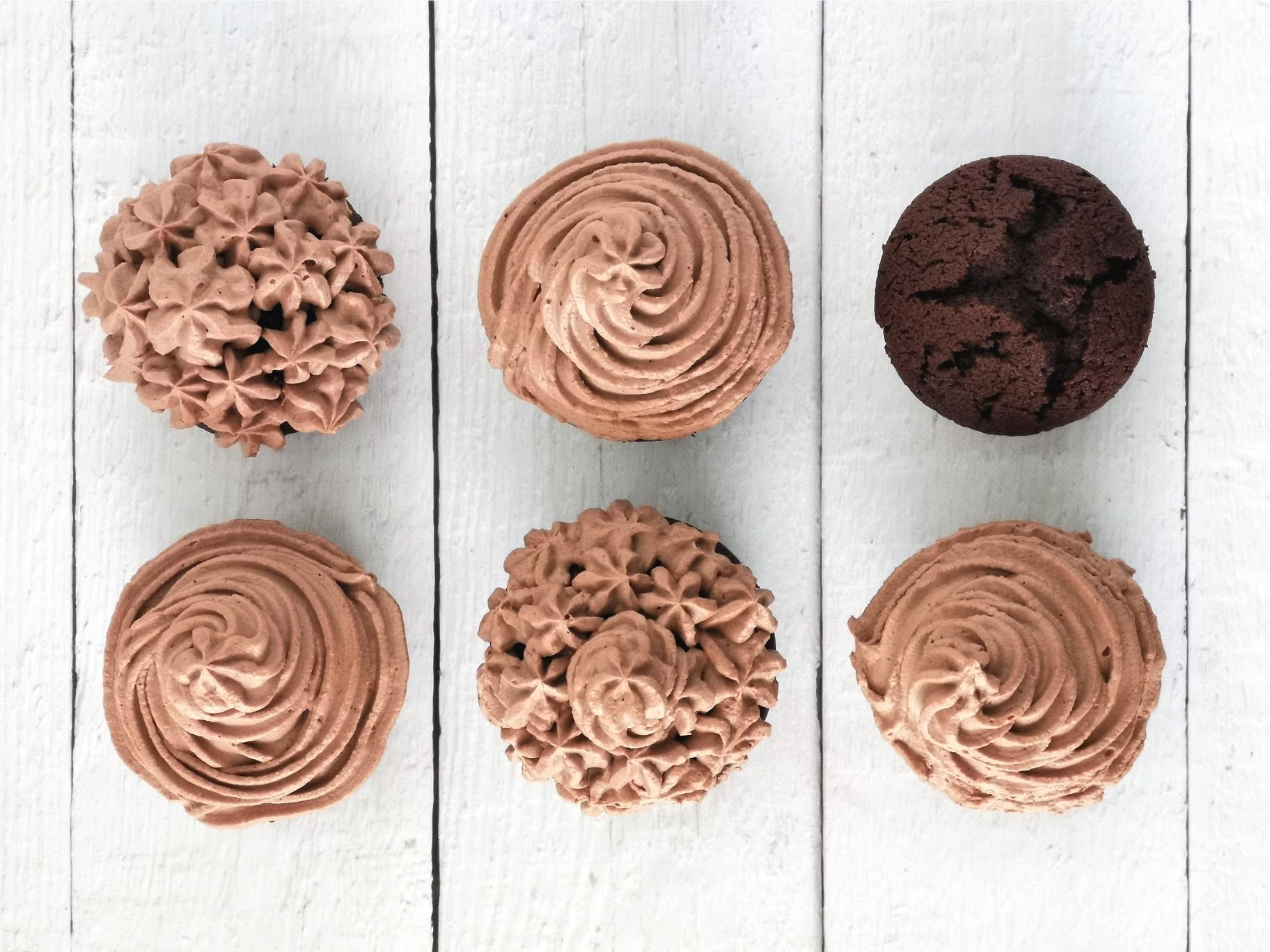 Rumos- csokis cupcake