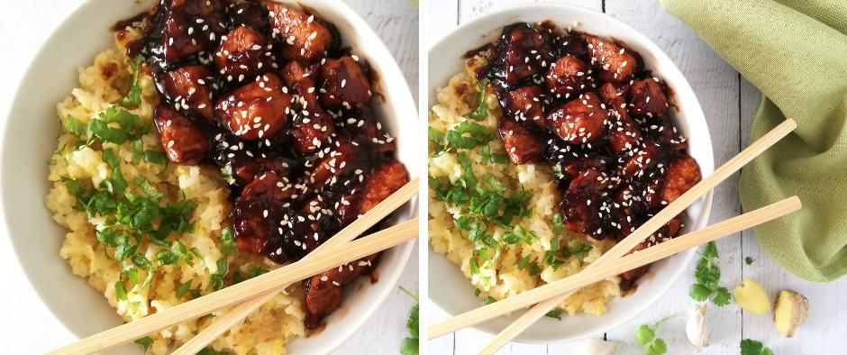 Egyszerűen elkészíthető teriyaki csirkemell