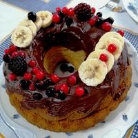 Banános kuglóf