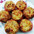 Sajtos - (extra) kukoricás muffin