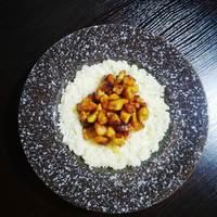 Mézes currys csírkemell