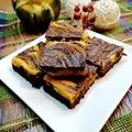 Sütőtökös - mascarponés brownie