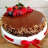 Csokis mascarpones torta