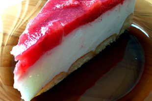 Epres - joghurttorta sütés nélkül