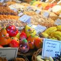 Barcelona híres piaca