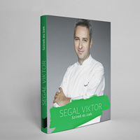 Egy újabb lépés: megjelent Segal Viktor szakácskönyve