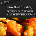 élő, online étteremkritika: Wang mester konyhájából