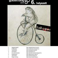 Goldenblog 6. helyezett lett a Gasztrobizarr