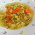 Az egyik legfincsibb nyári leves: csirkés zöldborsóleves
