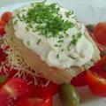 A legegyszerűbb halvacsora: olajos hering saláta ágyon