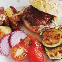 Egészséges házi burger!