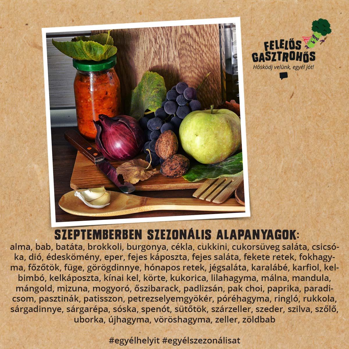 Szeptemberi szezonális receptek sárgarépával