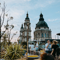 ÚJRA NYIT a HIGH NOTE SKYBAR - Ismét csodálhatjuk a Bazilika tetejét egy kellemes koktél mellett