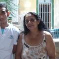 Laci és édesanyja