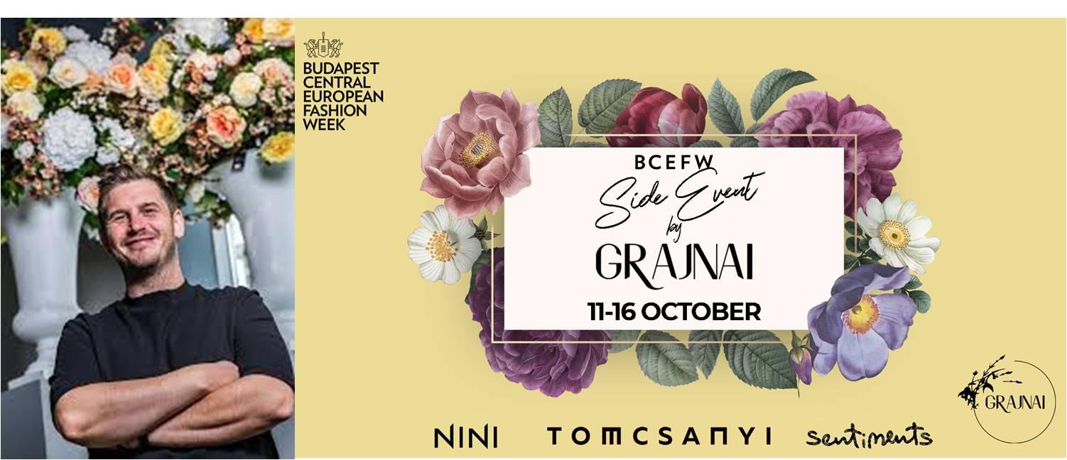 Könnyedség és katonás rend –GRAJNAI, a divat virágkötője