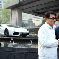 Itt a Jackie Chan Lamborghini
