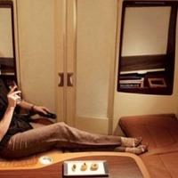 Királyi kényelem a repülőgépen