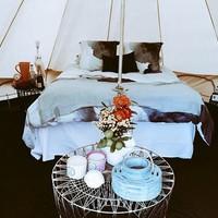 Miért sátoroznál egy luxushotelben? Mert menő!