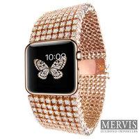 Itt a gyémántos Apple óra