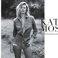 Saját modellügynökséget indít Kate Moss