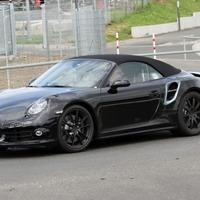 Kémfotó az új Porsche 911 kabrióról