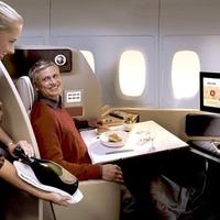 Csúcsluxus a repülőn – lesse meg!