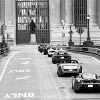 Jótékony Ferrari-felvonulás New Yorkban